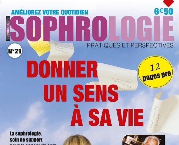 Le magazine Sophrologie – Pratiques et perspectives n°21 dans les kiosques