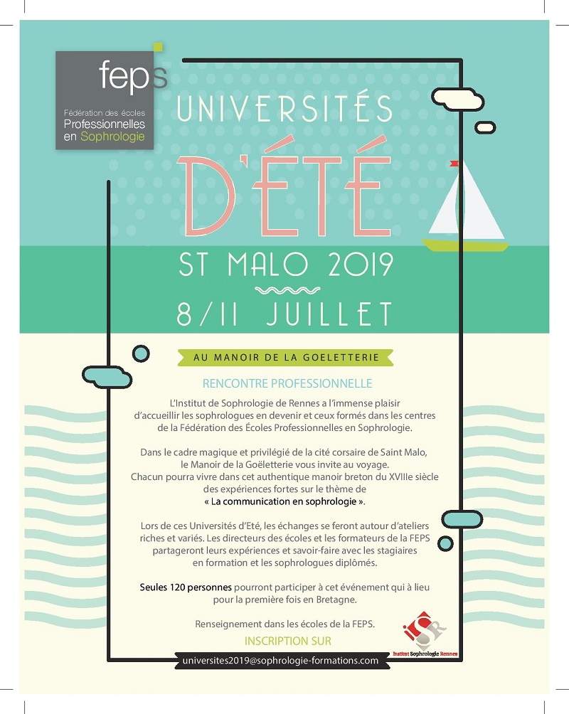 Universités d'été 2019 de la FEPS