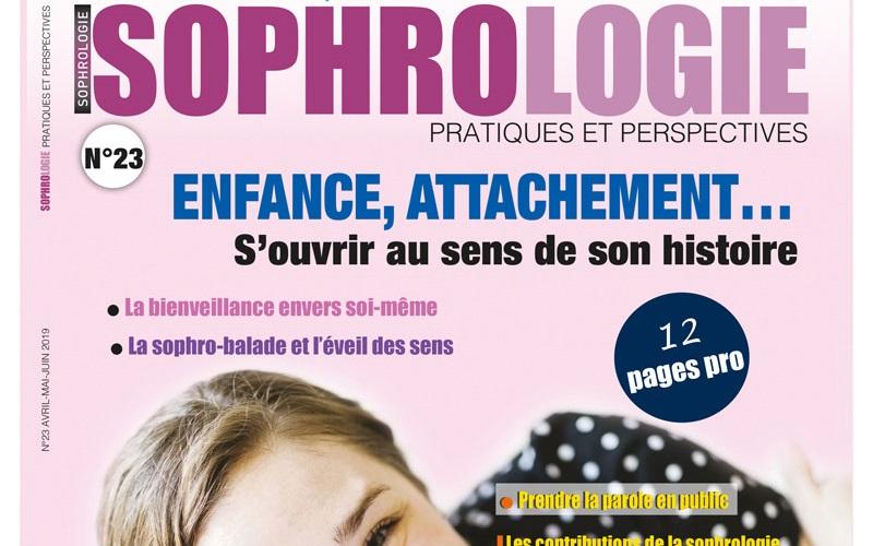 Le numéro 23 de Sophrologie Pratiques et Perspectives est sorti !