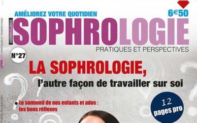Le numéro 27 de Sophrologie Pratiques et Perspectives est sorti !